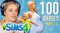 The 100 Baby Challenge - Episode 2 - Single Girl Raises Her First Child In The Sims 4 | Part 2