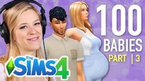 The 100 Baby Challenge - Episode 3 - Single Girl Reviews Fan Submitted Daddies In The Sims 4 | Part...