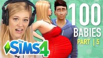 The 100 Baby Challenge - Episode 5 - Single Girl Seduces Craig in The Sims 4 | Part 5