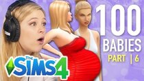 The 100 Baby Challenge - Episode 6 - Single Girl Raises A Teen In The Sims 4 | Part 6