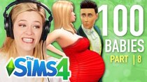 The 100 Baby Challenge - Episode 8 - Single Girl Traumatizes Her Kids In The Sims 4 | Part 8