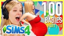 The 100 Baby Challenge - Episode 10 - Single Girl Tries The 100-Baby Challenge In The Sims 4 | Part...