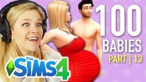 The 100 Baby Challenge - Episode 13 - Single Girl Seduces Her Doctor In The Sims 4 | Part 13