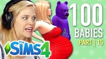 The 100 Baby Challenge - Episode 15 - Single Girl's Son Is A Bear In The Sims 4 | Part 15