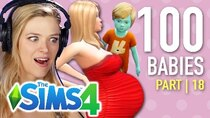 The 100 Baby Challenge - Episode 18 - Single Girl Nurtures An Alien In The Sims 4 | Part 18