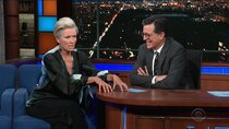 The Late Show with Stephen Colbert - Episode 156 - Emma Thompson, Adam Scott, Spiritualized