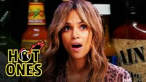 Hot Ones - Episode 2 - Halle Berry Refuses to Lose to Spicy Wings