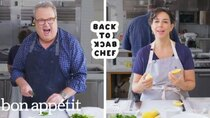 Back to Back Chef - Episode 18 - Eric Stonestreet Tries to Keep Up With a Professional Chef