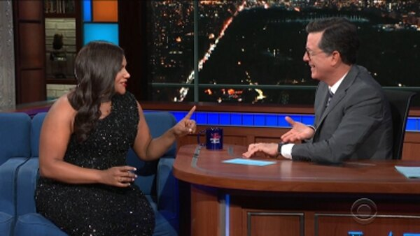 The Late Show with Stephen Colbert - S04E158 - Mindy Kaling, Seth Green