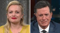 The Late Show with Stephen Colbert - Episode 159 - Elisabeth Moss, Matt Bomer, Steven Rogers