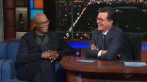 The Late Show with Stephen Colbert - Episode 160 - Samuel L. Jackson, Ash Carter