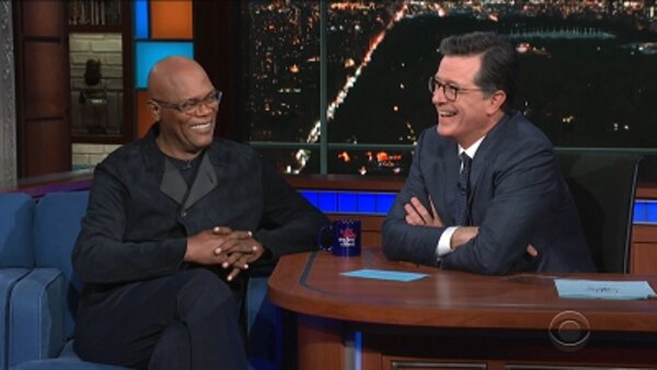 The Late Show with Stephen Colbert - S04E160 - Samuel L. Jackson, Ash Carter