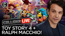 Collider Live - Episode 104 - Toy Story 4 Review & Ralph Macchio in Studio! (#155)