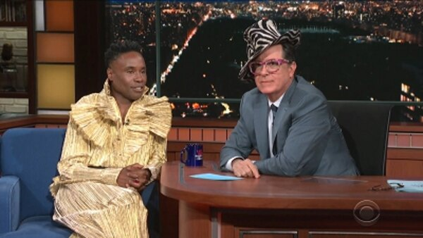 The Late Show with Stephen Colbert - S04E162 - Rep. Beto O'Rourke, Billy Porter