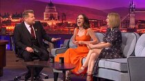 The Late Late Show with James Corden - Episode 128 - Lily James, Millie Bobby Brown, Little Mix