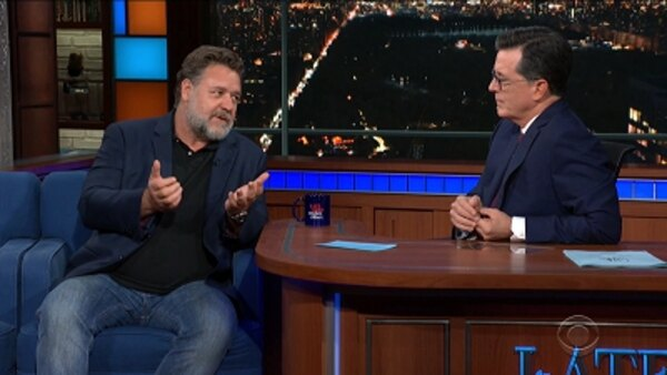 The Late Show with Stephen Colbert - S04E168 - Russell Crowe, The Raconteurs