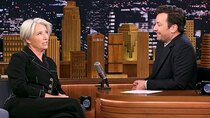 The Tonight Show Starring Jimmy Fallon - Episode 138 - Emma Thompson, Sophie Turner, Paula Pell, Amirah Kassem