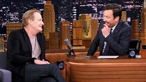 The Tonight Show Starring Jimmy Fallon - Episode 140 - Jeff Daniels, Jamie Foxx and Corinne Foxx, Maluma