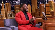 The Tonight Show Starring Jimmy Fallon - Episode 145 - Kevin Hart, Beanie Feldstein, Mabel