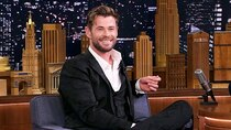 The Tonight Show Starring Jimmy Fallon - Episode 151 - Chris Hemsworth, Jonas Brothers