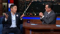 The Late Show with Stephen Colbert - Episode 170 - Tom Holland, Andrew Yang, Jenny Lewis