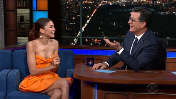 The Late Show with Stephen Colbert - S04E171 - Zendaya, Julian Edelman