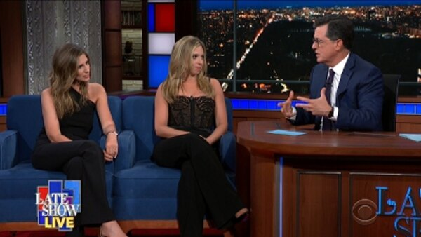The Late Show with Stephen Colbert - S04E173 - Chris Christie, Carly Zakin, Danielle Weisberg
