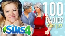 The 100 Baby Challenge - Episode 27 - Single Girl Finds Her Soulmate In The Sims 4 | Part 27