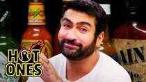 Hot Ones - Episode 7 - Kumail Nanjiani Sweats Intensely While Eating Spicy Wings