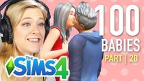 The 100 Baby Challenge - Episode 28 - Single Girl Gets Married In The Sims 4 | Part 28