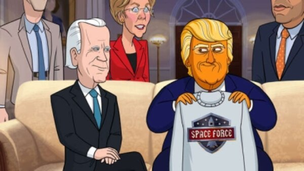 Our Cartoon President - S02E10 - Space Force
