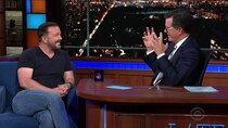 The Late Show with Stephen Colbert - Episode 174 - Ricky Gervais, X Ambassadors