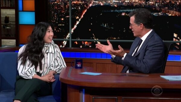 The Late Show with Stephen Colbert - S04E175 - Awkwafina, Donny Deutsch, The Mountain Goats