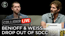 Collider Live - Episode 128 - Game of Thrones Showrunners Drop Out of San Diego Comic-Con (#179)