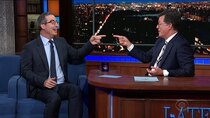 The Late Show with Stephen Colbert - Episode 178 - John Oliver, Joe Namath