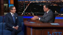 The Late Show with Stephen Colbert - Episode 181 - Chris Wallace, Jamie Bell