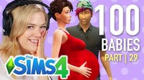 The 100 Baby Challenge - Episode 29 - Single Girl Has Her First Time In The Sims 4 | Part 29
