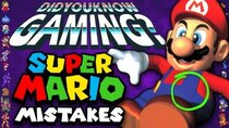 Did You Know Gaming? - Episode 319 - Mistakes in Mario Games