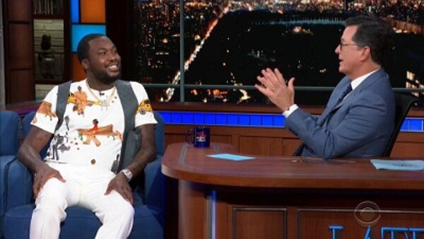 The Late Show with Stephen Colbert - S04E187 - Meek Mill, Nicholas Braun