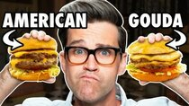 Good Mythical Morning - Episode 102 - What's The Best Cheese For Your Burger? (TEST)