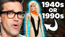 Good Mythical Morning - Episode 105 - 100 Years of Swimsuits (GAME)
