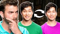 Good Mythical Morning - Episode 112 - Can We Spot The Identical Twin? (GAME)
