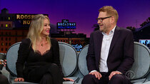 The Late Late Show with James Corden - Episode 114 - Christina Applegate, Kenneth Branagh, Rival Sons