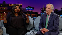 The Late Late Show with James Corden - Episode 118 - Octavia Spencer, Henry Winkler
