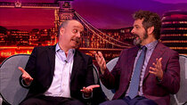 The Late Late Show with James Corden - Episode 130 - Michael Sheen, Paul Giamatti, Mumford & Sons, Cast of XMen Dark...