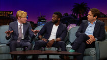The Late Late Show with James Corden - Episode 139 - Domhnall Gleeson, Pete Holmes, Aldis Hodge, Machine Gun Kelly,...