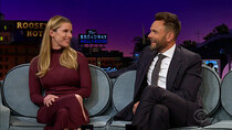The Late Late Show with James Corden - Episode 141 - Joel McHale, Betty Gilpin