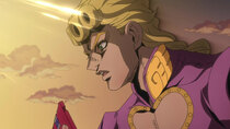 JoJo no Kimyou na Bouken: Ougon no Kaze - Episode 19 - White Ice