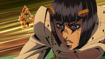 JoJo no Kimyou na Bouken: Ougon no Kaze - Episode 16 - The Thankful Death Part 2