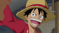One Piece - Episode 891 - Climbing up a Waterfall! A Great Journey Through the Land of...